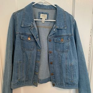 Medium Blue Denim Jacket